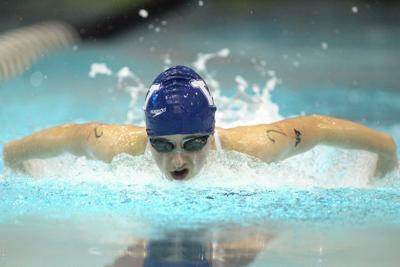 Women's Swimming and Diving: Titans Race Past Barons, Improve to 3-0