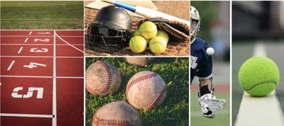 Spring Varsity Sports Collage