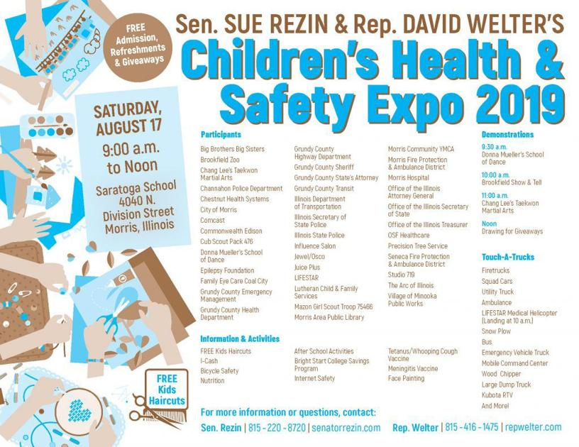 Children's Health & Safety Expo Coming To Morris | Local