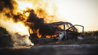 Tacoma Washington soldier's Jeep Cherokee erupts in flames