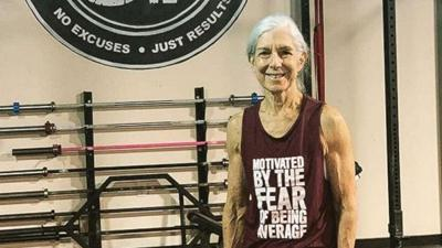 Woman, 72, who does CrossFit daily is serious #workoutgoals