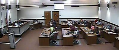 Photo from Grundy Co. Board livestream