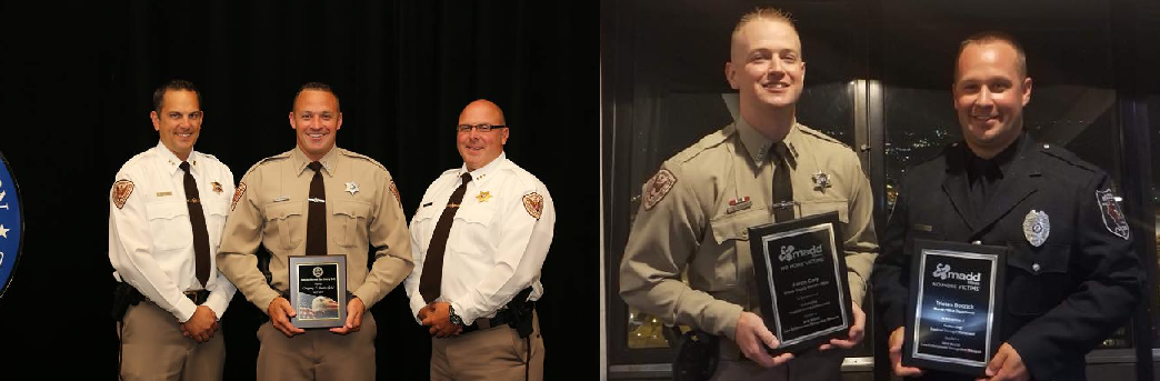 Three Grundy County Police Officers Honored For Enforcement Efforts