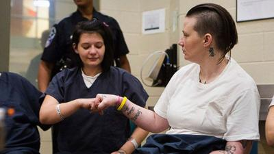 Two sisters battle heroin addiction behind bars