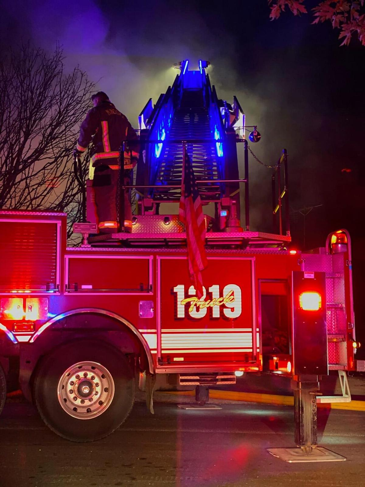 Channahon House Destroyed By Fire, No Injuries Reported