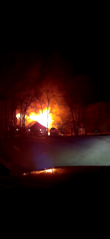Photo from Seneca Fire Department