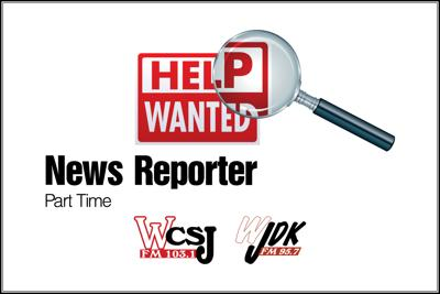 help wanted news reporter