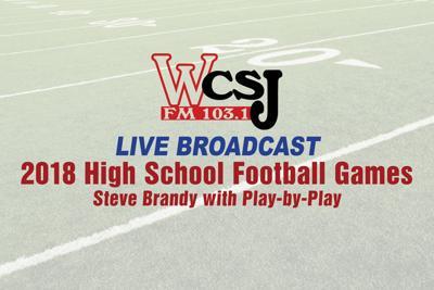 WCSJ Live Broadcast Friday Night High School Football