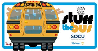 We Care of Grundy County's Stuff The Bus Needs Your Help UTO
