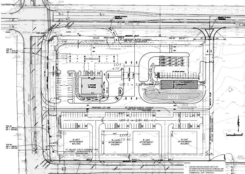 New Site Plan for Gas Station Car Wash in Montgomery Up for – Car Wash Site Plans
