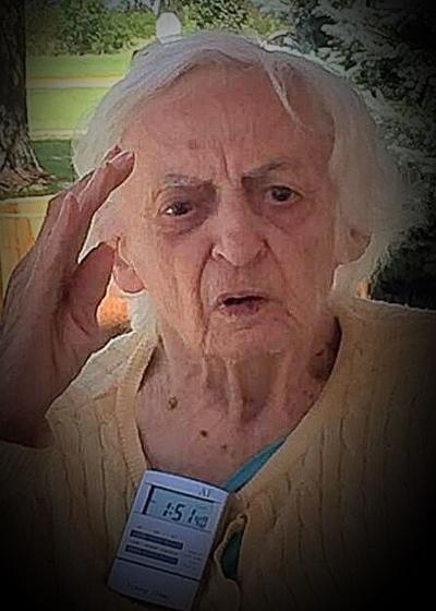 Photo: Helen E. Logan - Morris - 1921 to 2021