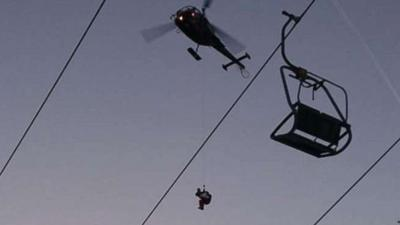More than 150 rescued after ski lift in Austria malfunctions