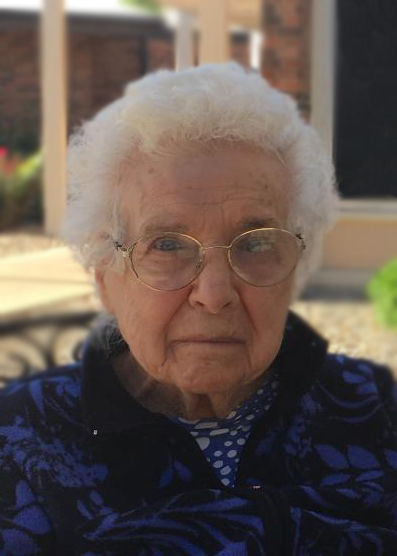 "Photo: Florentine ""Flo"" Chally of Morris / 1930-2019"