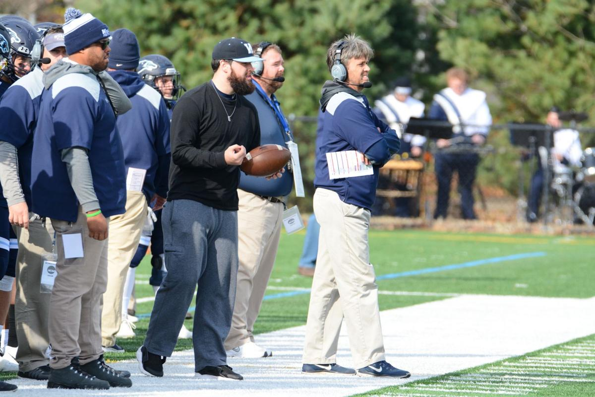 Chip Knapp and Mike Drass on the sidelines