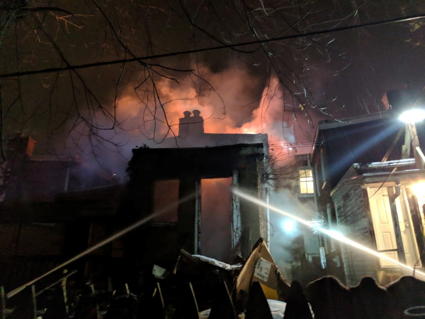 Wilmington house fire displaces a dozen people