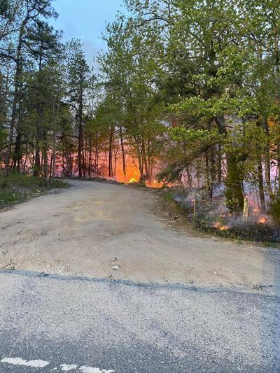 Winslow Township Brush Fire