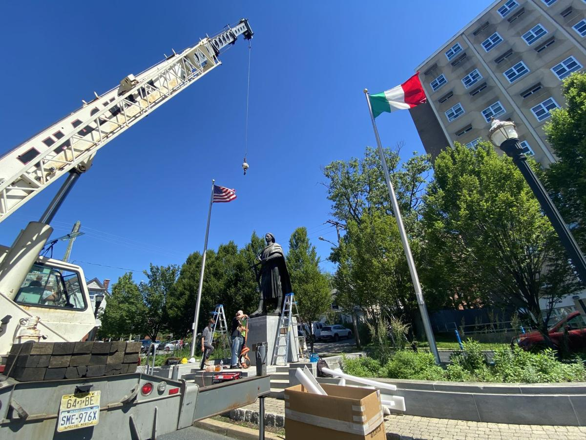 Columbus statue removal