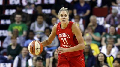 Elena Delle Donne file photo from 2018