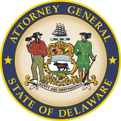 Delaware Attorney General DOJ Department of Justice State shield