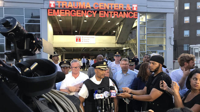 Philadelphia shooting news conference 081519