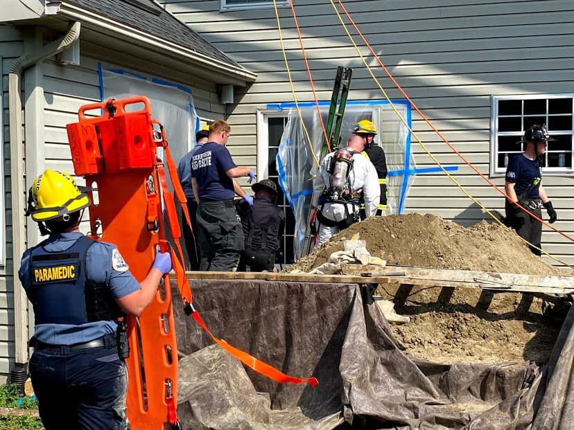North Star trench rescue 1