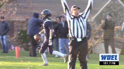 William Davis scores for Wilmington Friends in victory over Tower Hill