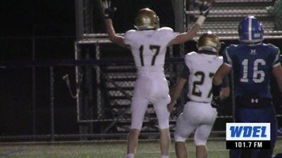 Sean Regan scores for Salesianum in win over Middletown