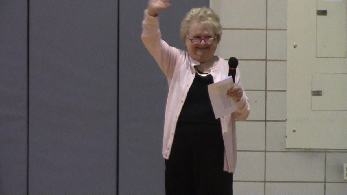 Padua Academy principal returns to cheering students after firing, rehiring