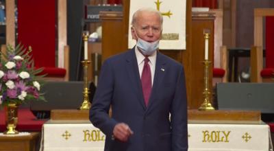 Biden in WLM at Bethel AME Church 060120
