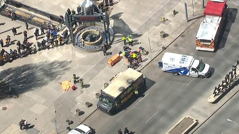 Toronto collision leaves 9 dead, 16 injured; suspect in custody   WDEL