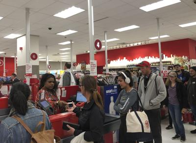 Target Checkout Trouble