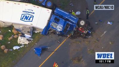 I-95 truck crash 092419