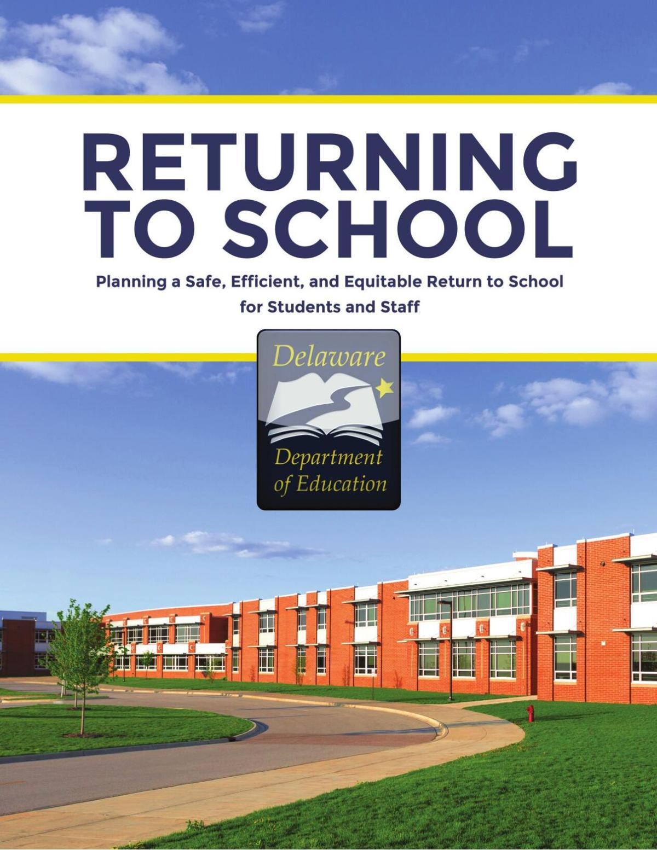 Returning to schools