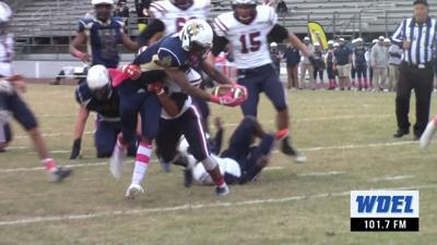 DMA's Corahn Alleyne scores a touchdown against FSMA