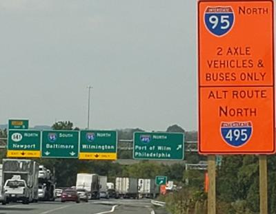 95 truck restrictions