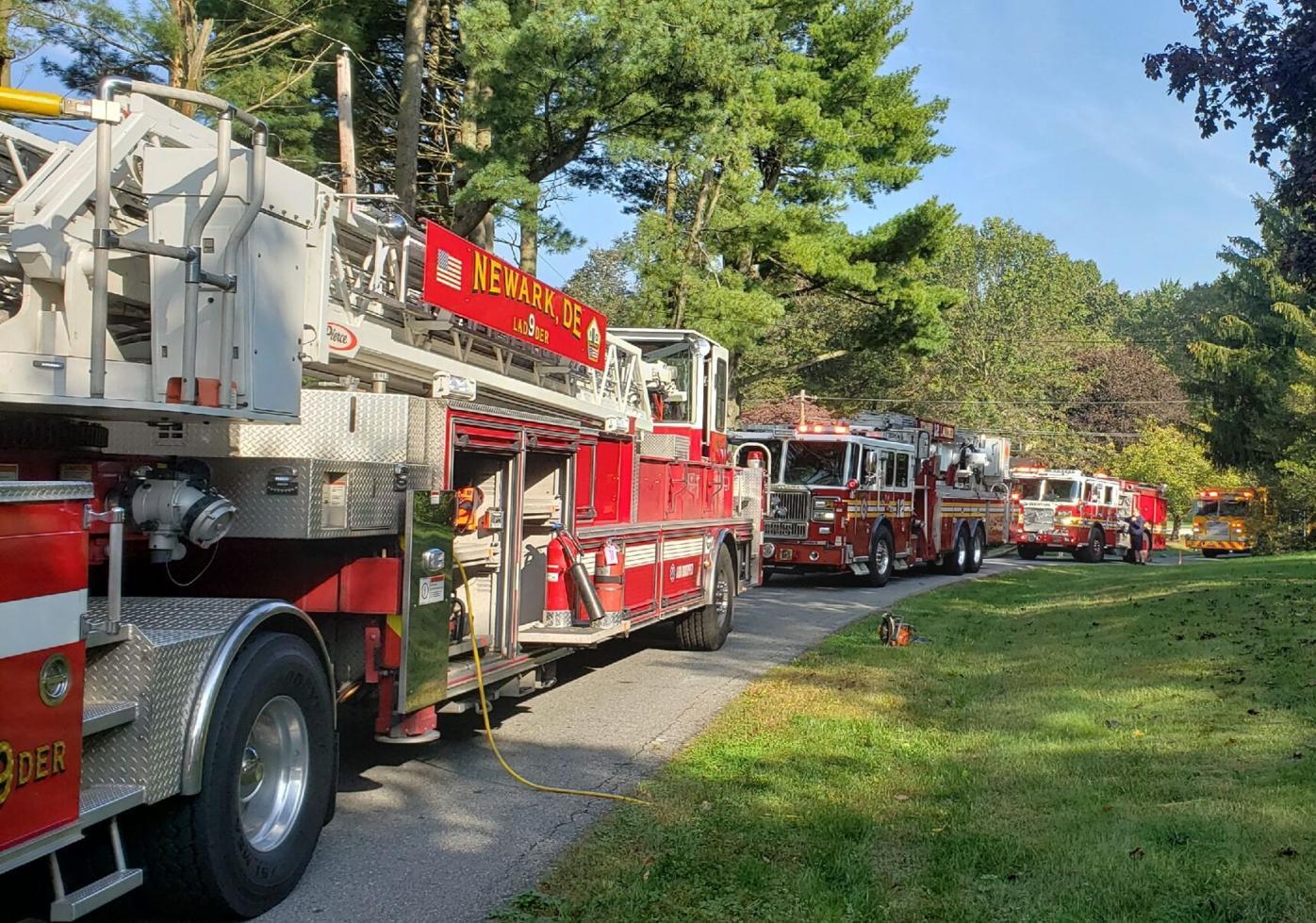 Bridle Brook Lane fire