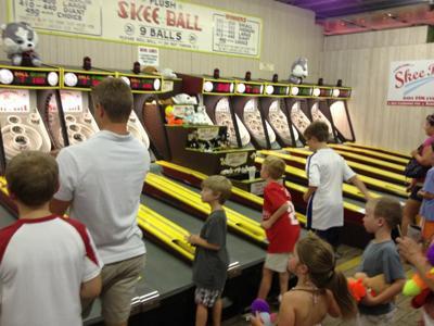 Funland's Skee-Ball