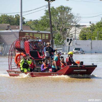 Wilmington water rescues