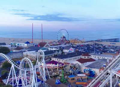 Ocean city maryland OCMD ferris wheel