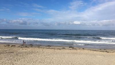 Jersey Shore empty beach