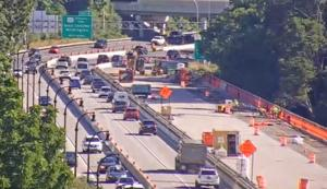 New month, new pattern for traffic leaving Wilmington on I-95 northbound