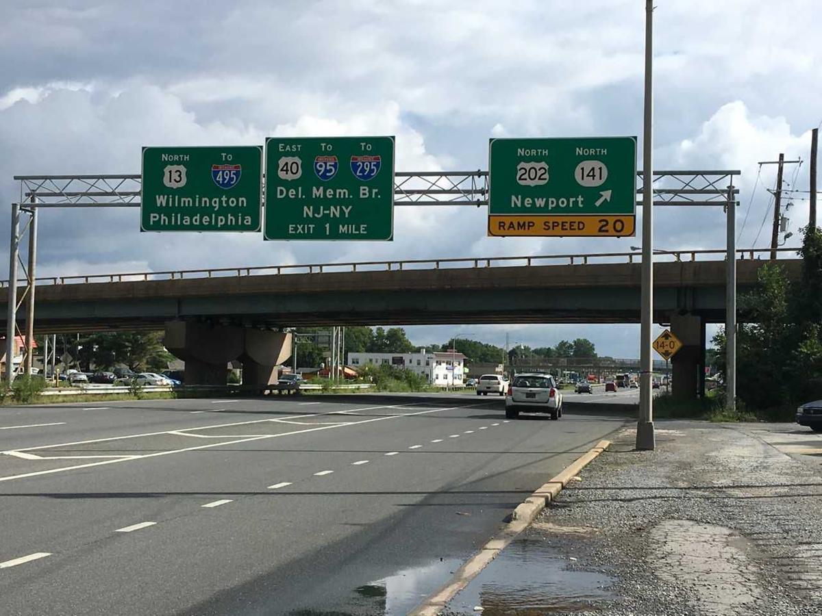 141 Bridge at US-13 in New Castle