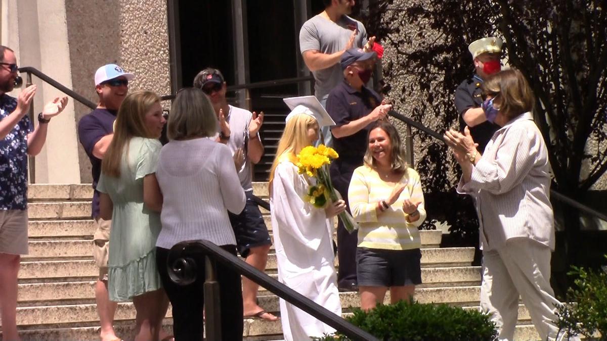 Abby Leach graduation 1