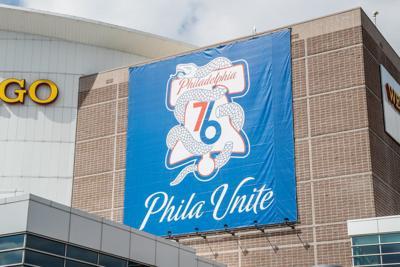 76ERS playoff logo