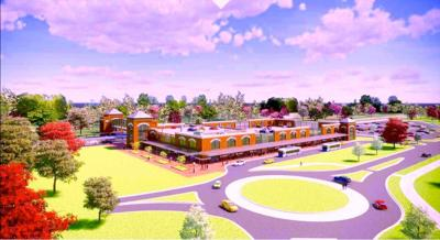 Claymont Transportation Center rendering