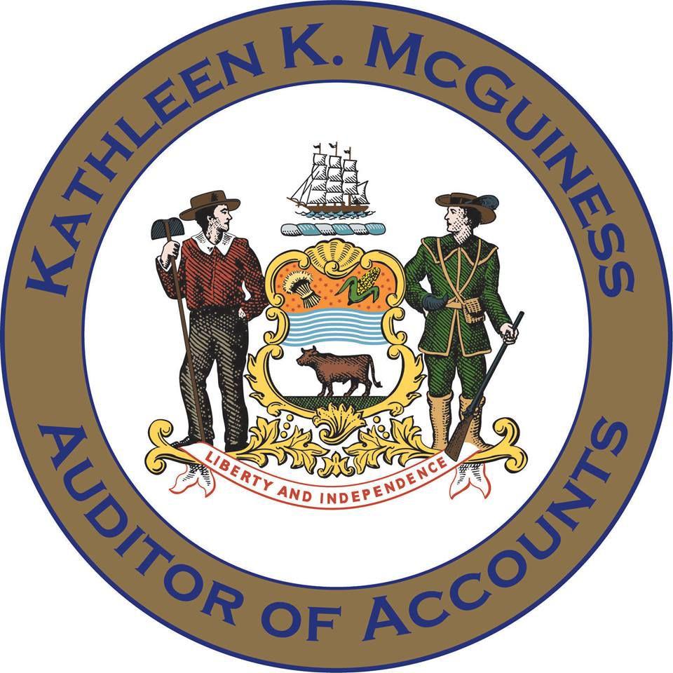 Incorrect Delaware State seal