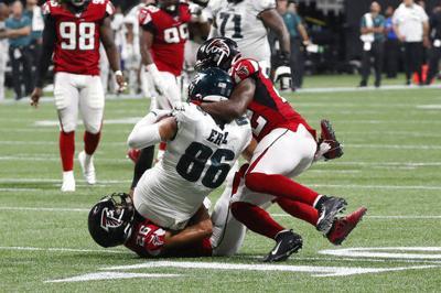 Eagles Falcons Football