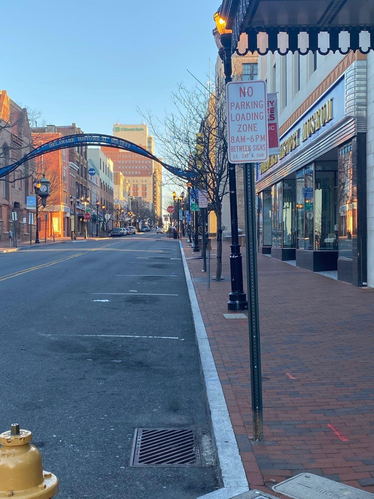 Wilmington parking by Queen