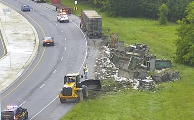 Summit Bridge Chicken Truck Spill