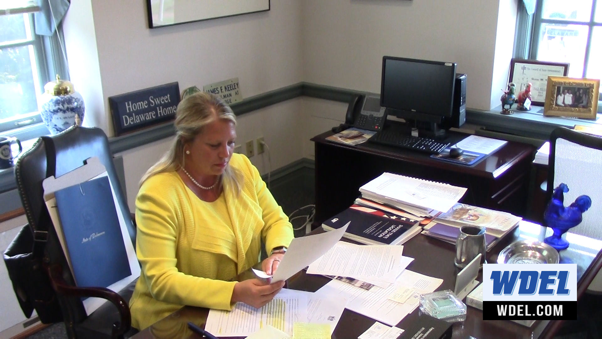 VIDEO | 'It's time': Representative Helene Keeley explains her decision to retire after 22 years in Dover | WDEL